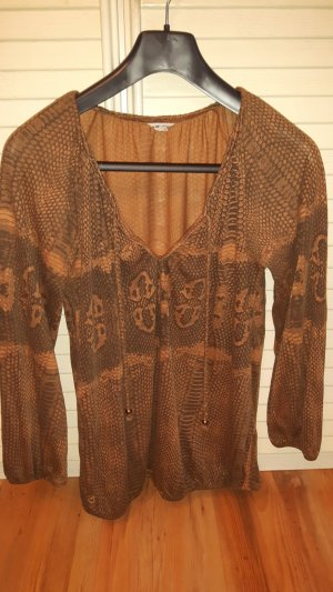 Herrlicher Tunic brown-dark brown