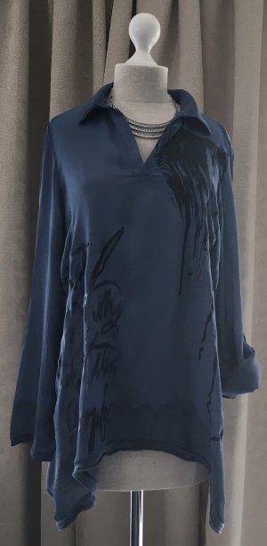 Tunika Bluse in einem schönen blau