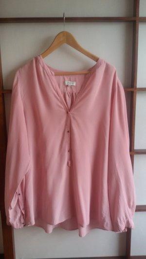 Tunika-Bluse in rosa