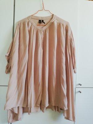 Mango Oversized blouse nude