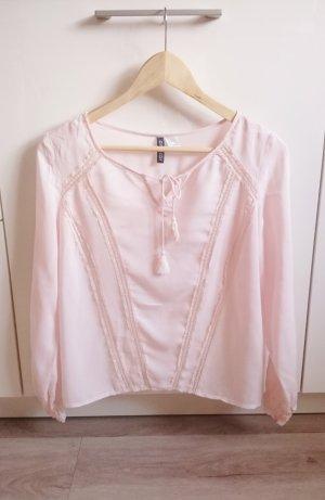 Tunika Bluse rosa/nude Gr. XS