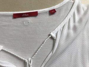 s.Oliver Tunique-blouse blanc cassé