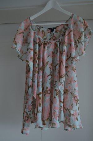 Tunika Bluse von H&M Gr. 42 Pastelltöne