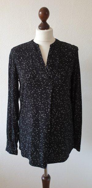 Tunika / Bluse von s.Oliver * Gr.36 * Sterne * schwarz/weiß