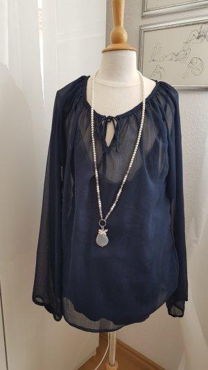 Tunika Bluse von Soyaconcept Größe M blau