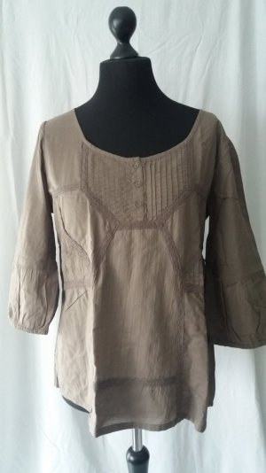 Street One Tunique-blouse marron clair-beige