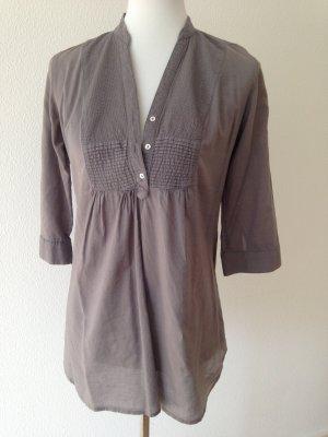 Zara Tunique-blouse gris coton