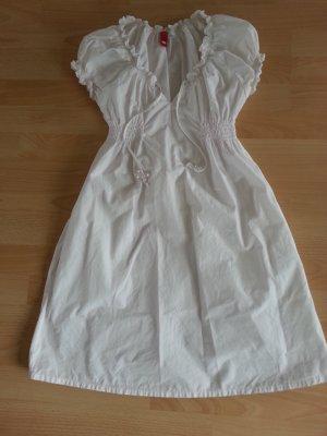 Tunika Blusen Kleid weiss Gr 36 S M
