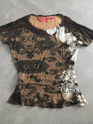 Desigual Tunique-blouse multicolore