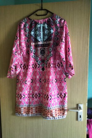 0039 Italy Shirt Tunic multicolored polyester