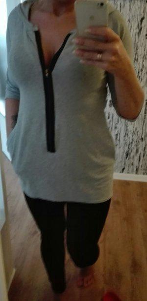 Tunique-blouse gris clair