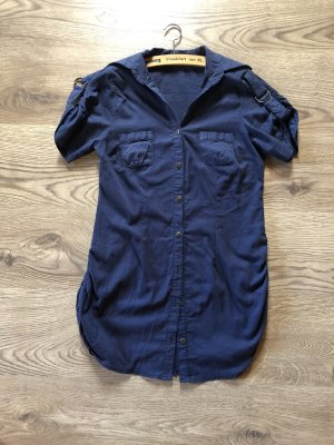 Tunika Damenhemd Bluse Schulterklappe