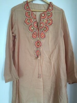 Beachwear sand brown cotton