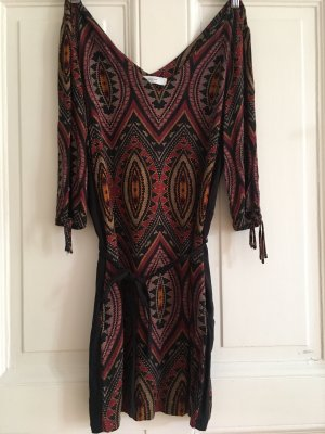 Promod Vestido tipo túnica multicolor