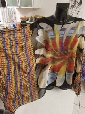 Blouse oversized multicolore