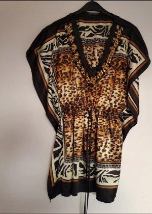 Blusa de túnica multicolor Licra