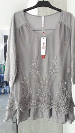 Sheego Tunic light grey-grey mixture fibre