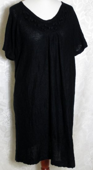 okay Long Cardigan black