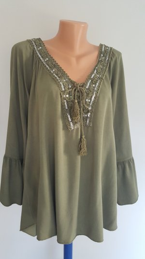Tunic olive green
