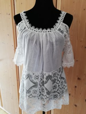 Made in Italy Tunic white