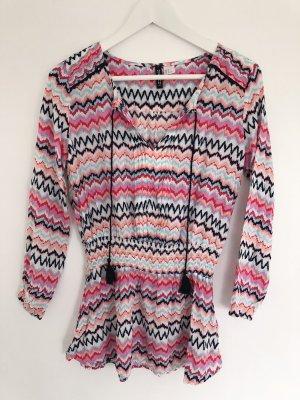 Tunika in bunten Farben von H&M in Gr.38