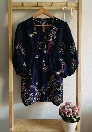 Zara Trafaluc Tunic dark blue polyester
