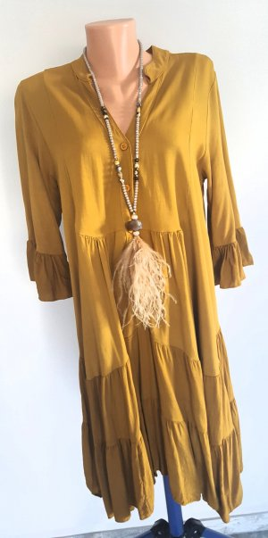 Tunic Dress ocher