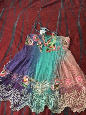 Antica Sartoria Robe de plage multicolore