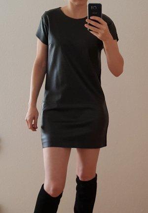 Tunika Kleid Longtop von Reserved in Lederoptik