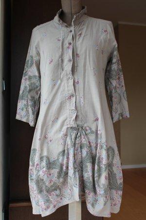 Tunika / Kleid mit Blumenmuster made in Italy - super Zustand