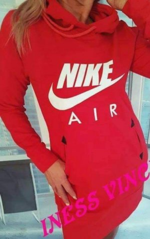 Nike Robe tunique rouge