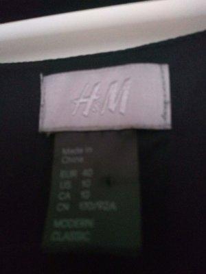 Tunika Kleid ohne Arm schwarz , H&M Gr. 40, etwas durchsichtig