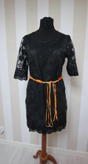 Vestido tipo túnica negro