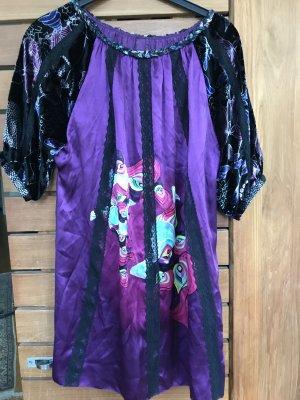 Tunika/Kleid von Custo Barcelona, reine Seide, Gr S