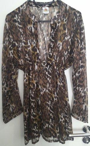 Tunika, Longbluse, Strandkleid, Bluse, leo, transparent, Rima Beachwear
