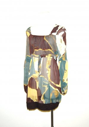 Tunika - Longshirt mit all over print von Via Appia Gr.36