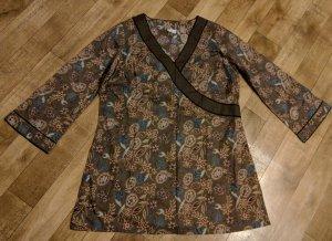 Tunika Minikleid Cotton Neu XXL Wickeloptik