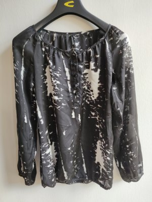 Soyaconcept Blusa de túnica blanco-negro Poliéster
