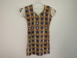Camicia lunga multicolore Cotone