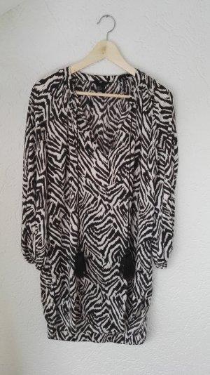 Tunika mit Zebra Muster