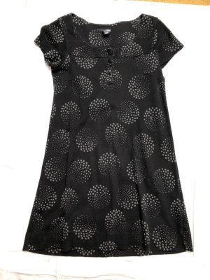 H&M Tuniekjurk zwart Katoen