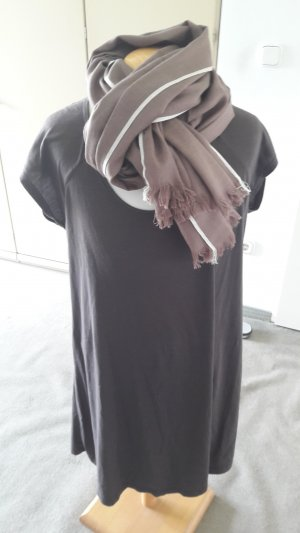 Camisa larga multicolor tejido mezclado