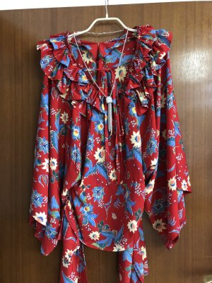 1.2.3 Paris Tunic Blouse red