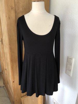 Blusa de túnica negro Algodón