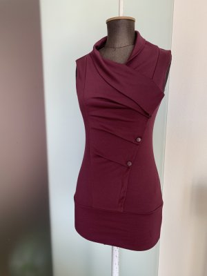 Orsay Vestido estilo camisa rojo zarzamora
