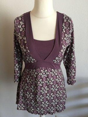 Tunika Shirt Oberteil lila flieder S.Oliver Gr. 40