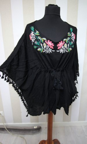 TUNIKA SHIRT TOP BLUMEN MUSTER