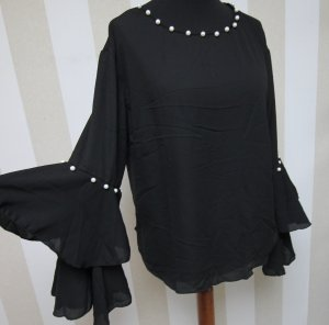 TUNIKA SHIRT TOP MIT PERLEN WOW