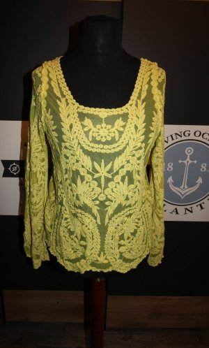 Shirt Tunic dark yellow