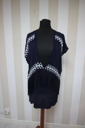 Shirt Tunic dark blue